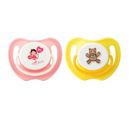 PIGEON Calming Soother 2pcs – Girl M 15753